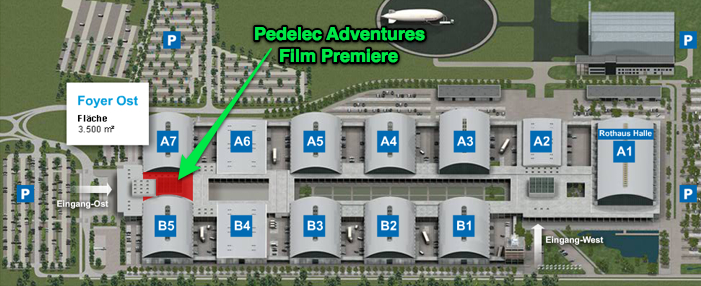 Location of Pedelec Adventures' Iceland Challenge Film Premiere