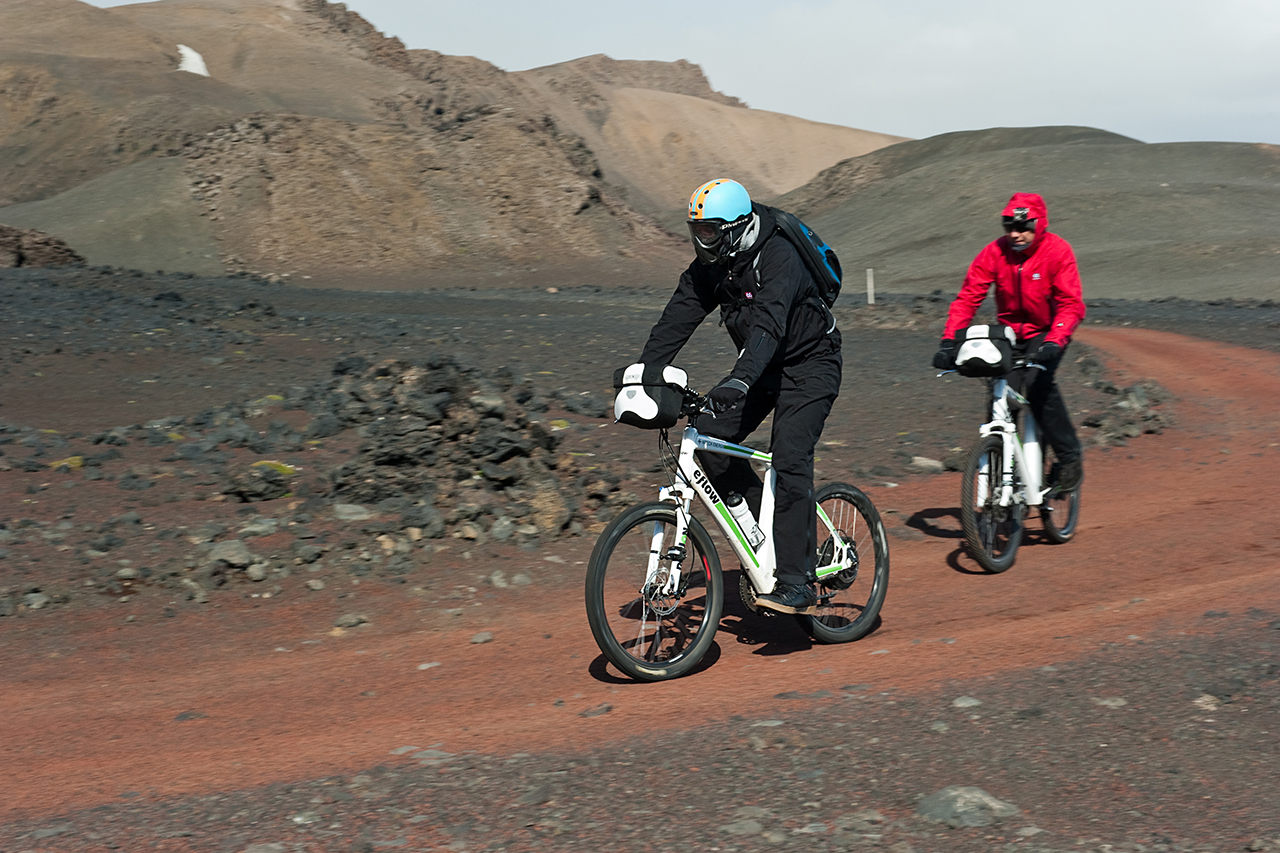Several hundred kilometers through the Krepputunga lava desert (SB)