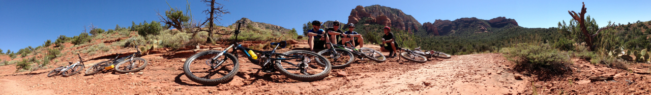 Riding Sedona's bike trails (SB)