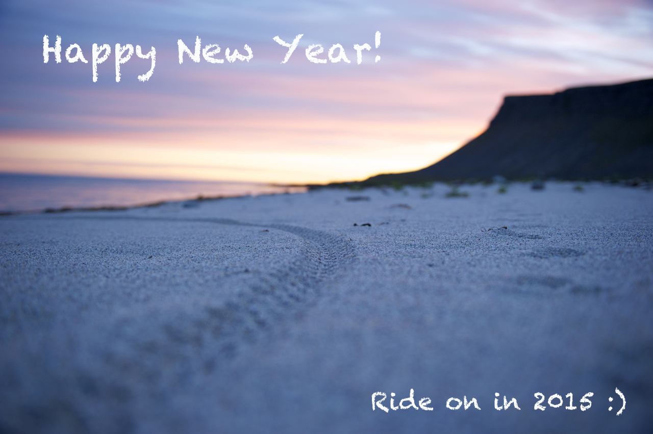 Ride on in 2015 (SB)